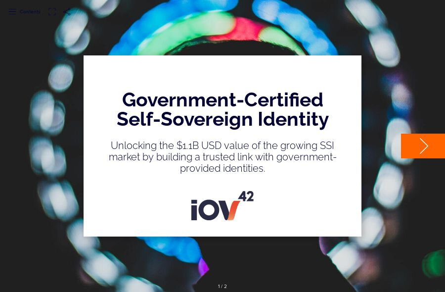 Government-Certified Self-Sovereign Identity
