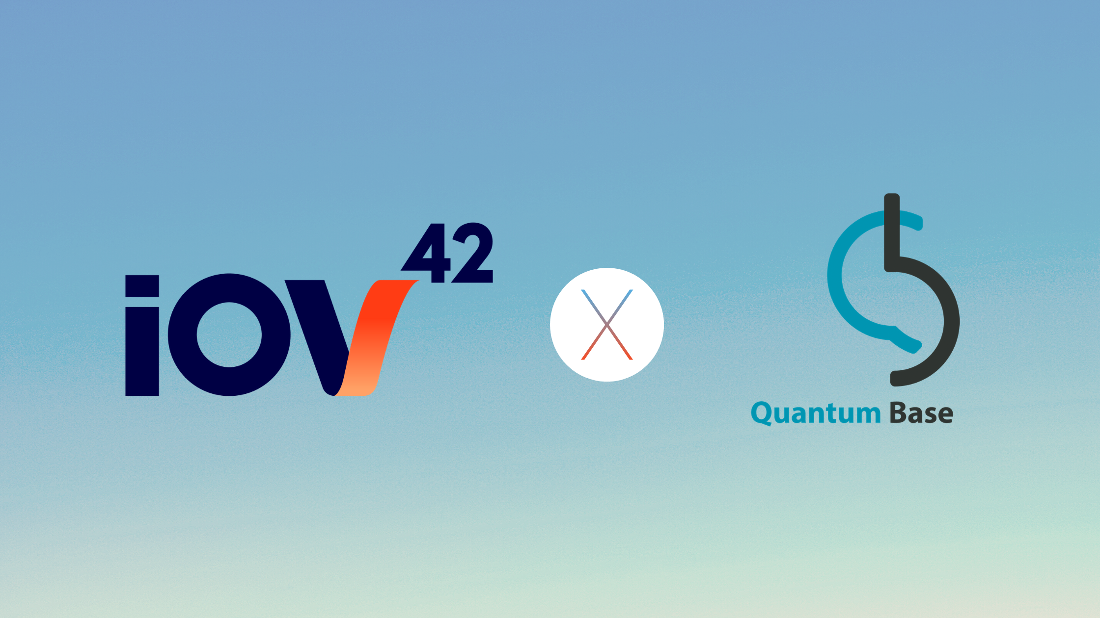 iov42 is pleased to work with Quantum Base